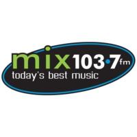 Logo of radio station CFVR-FM MIX 103.7