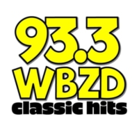 Logo of radio station 93.3 WBZD