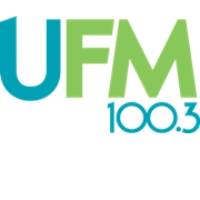 Logo of radio station UFM 100.3