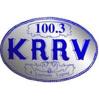 Logo of radio station KRRV