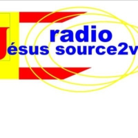 Logo of radio station radio Jésus source2vie