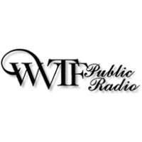 Logo of radio station WVTF NPR 89.1 FM