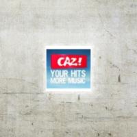 Logo of radio station CAZ FM