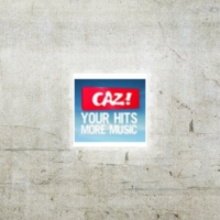 Logo of radio station CAZ FM