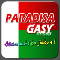 Logo of radio station Paradisagasy