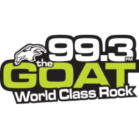 Logo of radio station CKQR-FM 99.3 The GOAT