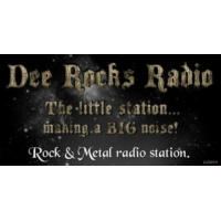 Logo of radio station DeeRocksRadio