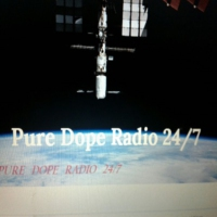 Logo of radio station PURE DOPE RADIO 24/7