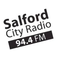 Logo of radio station 94.4FM Salford City Radio
