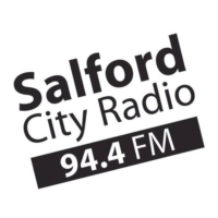 Logo of radio station 94.4FM Salford City Radio