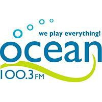 Logo of radio station Ocean 100.3