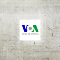 Logo of radio station Voice of America - Spanish
