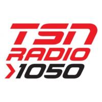 Logo of radio station TSN 1050 Toronto