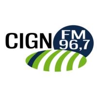 Logo of radio station CIGN 96.7