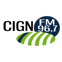 Logo of radio station CIGN 96.7