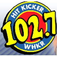 Logo de la radio WHKR Hit Kicker 102.7 FM