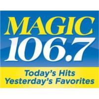 Logo of radio station WMJX Magic 106.7