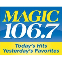 Logo of radio station WMJX Magic 106.7