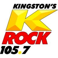 Logo of radio station CIKR-FM K-Rock 105.7