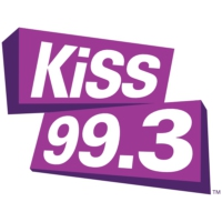 Logo of radio station CKGB-FM KiSS 99.3