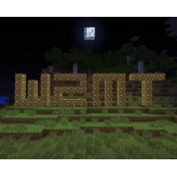 Logo of radio station WZMT - Minecraft Radio