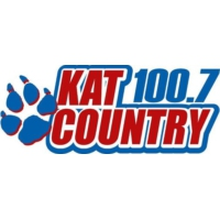 Logo of radio station KATJ - Kat Country 100.7