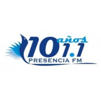 Logo of radio station Presencia 101.1 FM