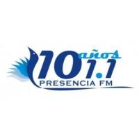 Logo de la radio Presencia 101.1 FM
