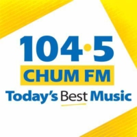 Logo of radio station CHUM 104.5 FM