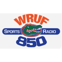 Logo of radio station WRUF 850 AM