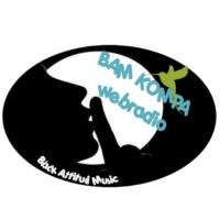 Logo of radio station BAM Kompa
