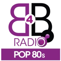 Logo of radio station B4B Radio Pop 80s