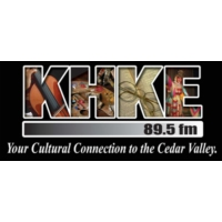 Logo of radio station KHKE
