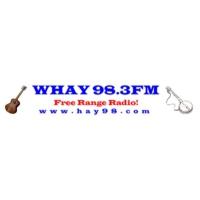 Logo de la radio WHAY Americana 98.3 FM