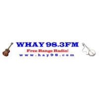 Logo of radio station WHAY Americana 98.3 FM