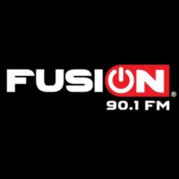 Logo of radio station Fusión 90.1 FM