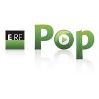 Logo of radio station ERF Pop