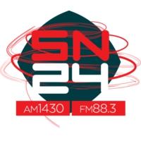 Logo de la radio LT24 Radio San Nicolas