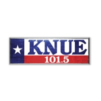 Logo of radio station 101.5 KNUE Country Radio