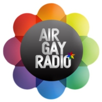 Logo of radio station AIR GAY RADIO