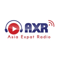 Logo of radio station AXR Asia Expat Radio Singapore