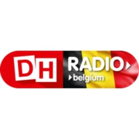 Logo of radio station DH Radio Belgium