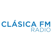 Logo of radio station Clásica FM Radio