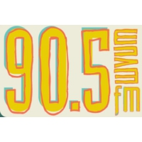 Logo de la radio WVUM University of Miami 90.5 FM