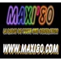 Logo de la radio MAXI 80 WEBRADIO