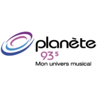 Logo of radio station Planete 93.5