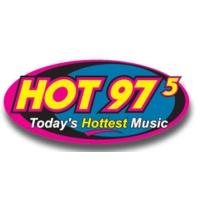 Logo of radio station KKCT Hot 97.5