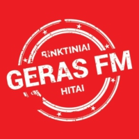 Logo of radio station Geras FM
