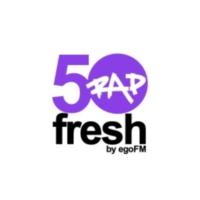 Logo of radio station 50fresh RAP - by egoFM