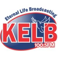 Logo of radio station KELB 100.5 FM